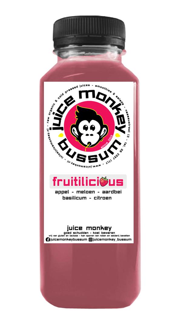 Fruitilicious S - Inhoud 260ml